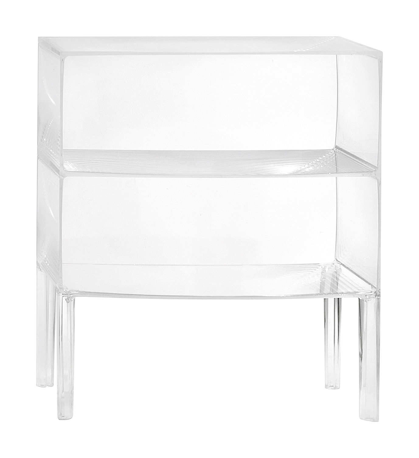 Ghost Buster Chest of drawers Cristal by Kartell