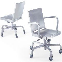 Home Office Chair No Wheels Uk Vip Design Hudson Indoor Wheelchair Casters Polished Aluminium By