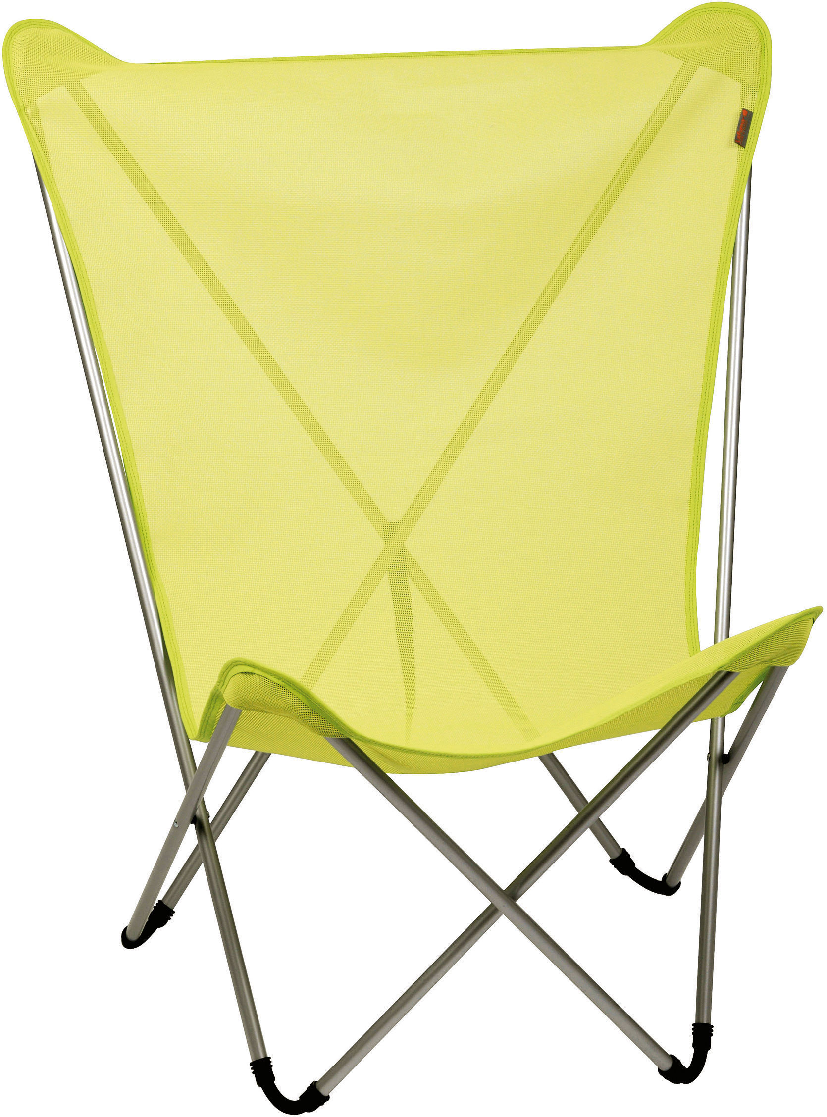 lafuma pop up chairs white slipcovered chair maxi armchair folding lime by