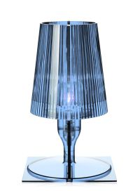 Take Table lamp Grey blue by Kartell