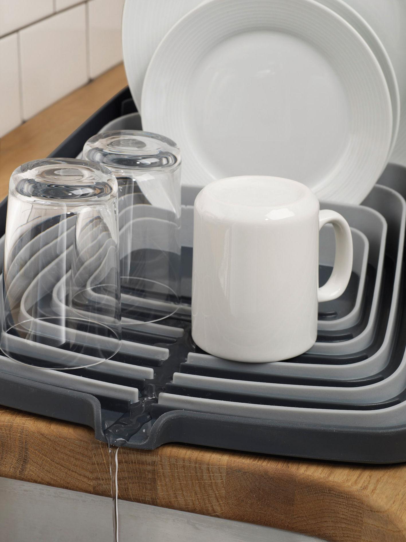 Arena Draining rack  Dish drainer Grey  Grey by Joseph