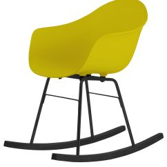 Yellow Rocking Chair Hanging Ball Ta Wood Sledge Black Sledges By Toou