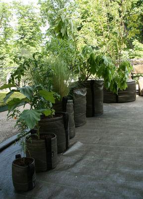 Pot De Fleurs Geotextile Outdoor 10 L 10L Marron