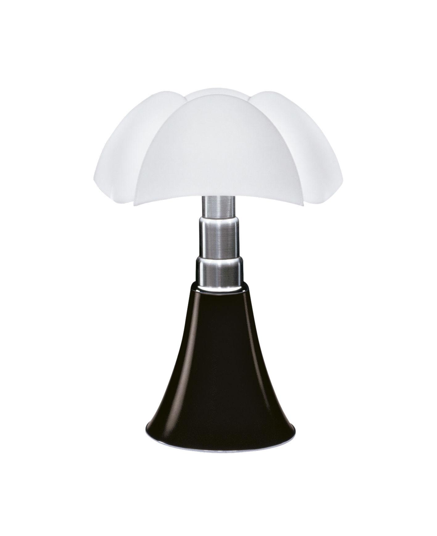 Lampe De Table Minipipistrello LED H 35 Cm Marron Fonc