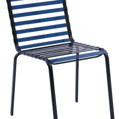 Chair Covers For Plastic Stacking Chairs Handicap Shower Swivel Striped Blue By Magis