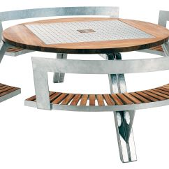 Metal Outdoor Table And Chairs Australia Menards Folding De Jardin Gargantua Ø 146 Cm à 200 43 Banc