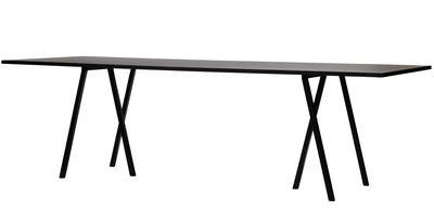 Table Loop  L 180 cm Noir  Hay