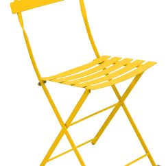 High End Folding Chairs Gold Chair Covers Bistro Metal Honey By Fermob