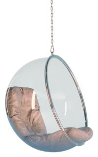 Bubble Chair Hanging armchair - Hanging armchair Clear ...