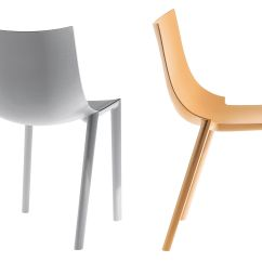 White Stacking Chairs Plastic Track For Veterans Bo Chair By Driade Made In
