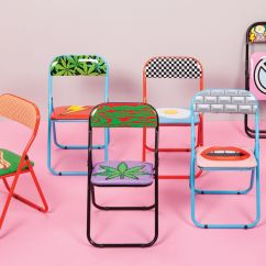 Padded Folding Chairs Uk Home Theater India Bouche Chair - / Mouth By Seletti