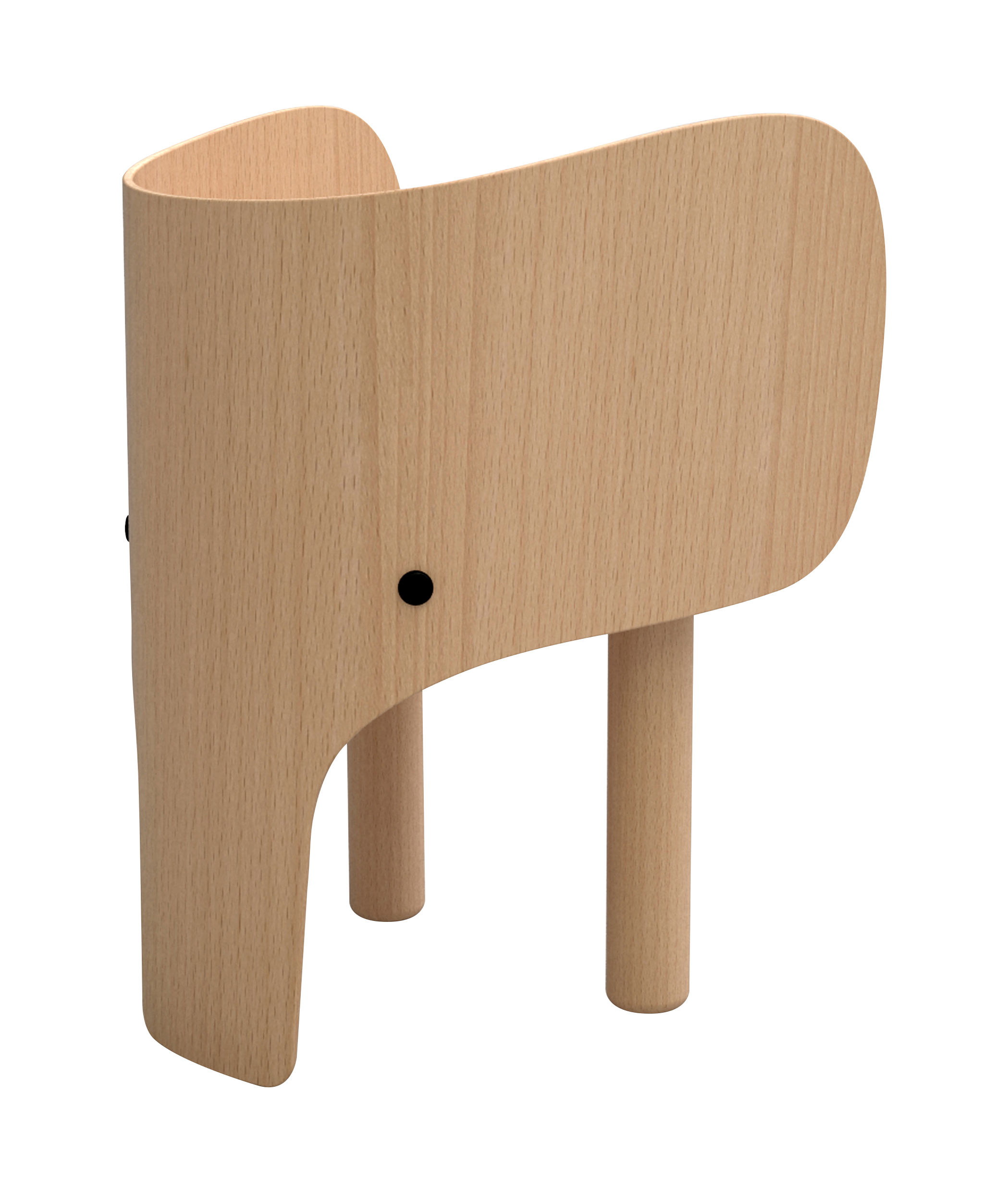 Elephant Childrens chair  H 52 cm Beech by Elements