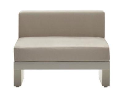 Mobel Lounge Sessel Bellini Hour Gepolsterter Sessel Ohne Armlehne Serralunga Gestell Elfenbeinfarben