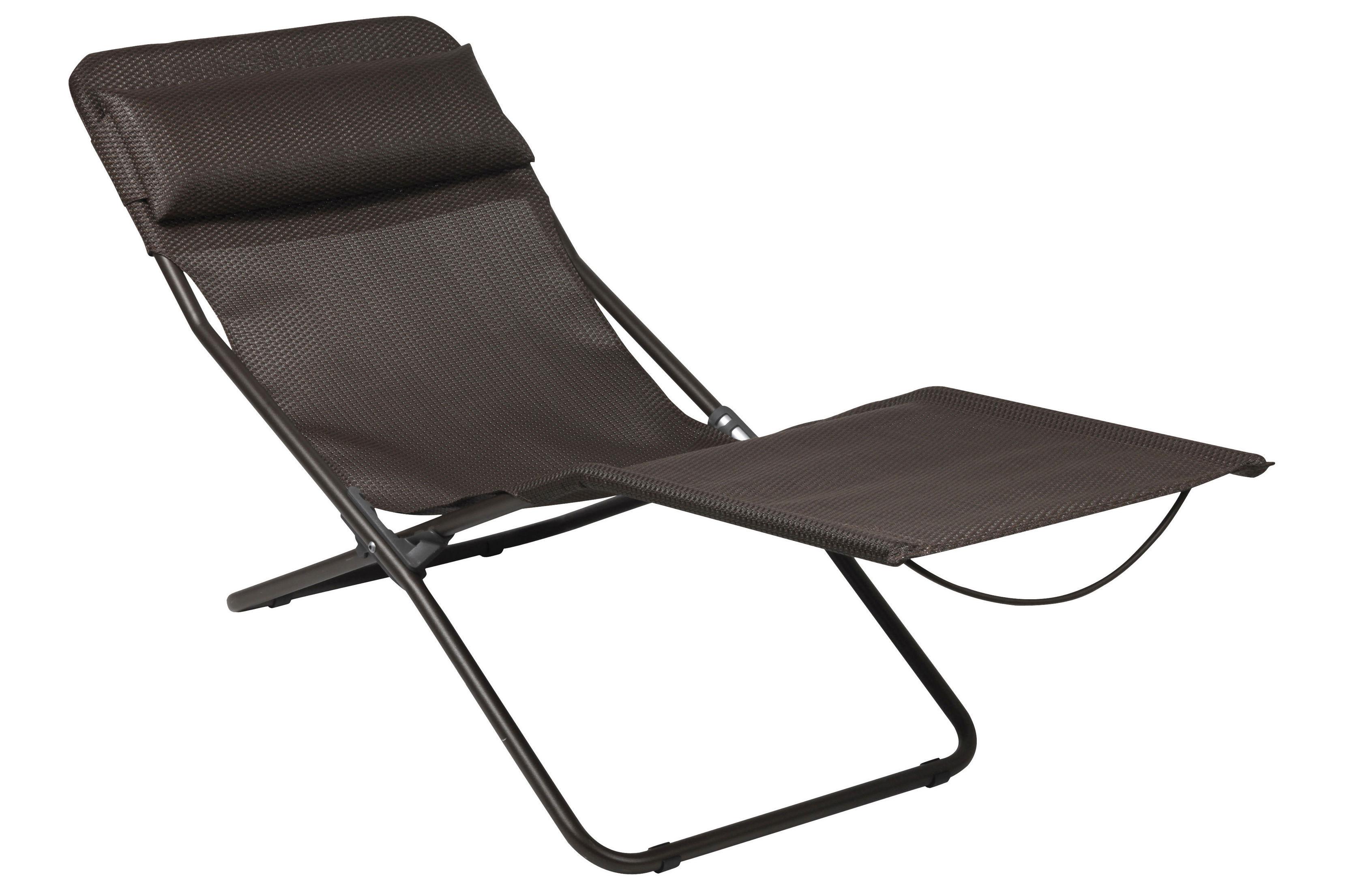 lafuma pop up chairs infant bath chair transalounge xl plus sun lounger foldable moka by