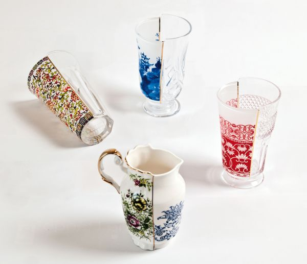 Hybrid - Clarice Cocktail glass - Set of 3 Clarice by Seletti