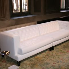 Sofa Furniture Design For Hall India Wicker Set Indoor Straight 3 Seats Leather Version White By