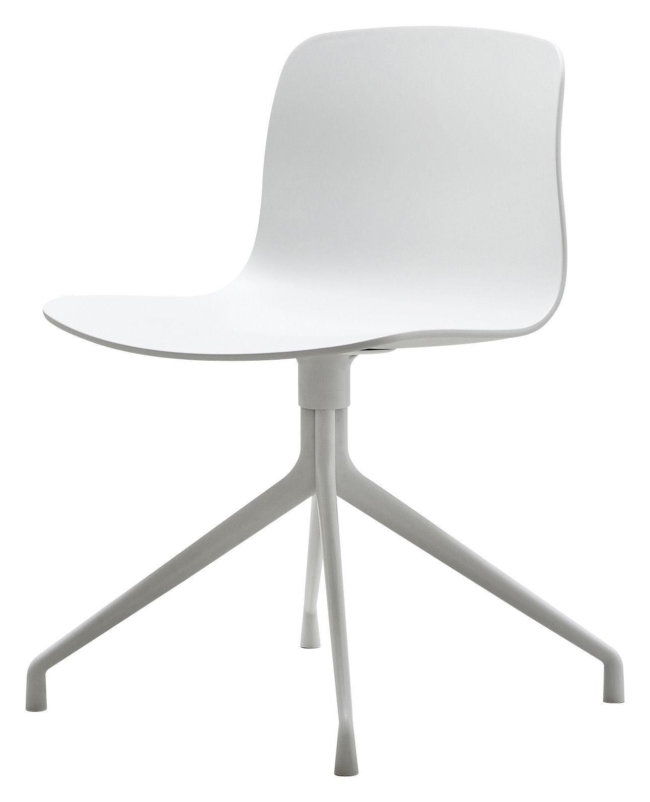swivel chair feet big joe brio with built in speakers about a by hay white natural wood l 52 x h 4 legs