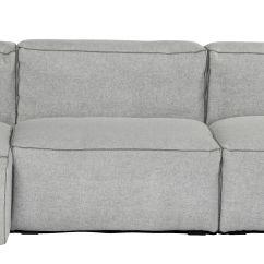 Duck Feather Corner Sofa Chair Legs Uk Soft Mags Left Armrest L 302 Cm Light Grey Divina Hay