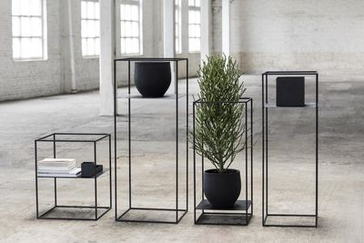 support pour plantes gueridon 39 x 39 cm x h 90 cm serax