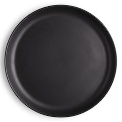 Kitchen Plates Tall Cabinet With Doors Plate Nordic By Eva Solo O 22 Cm Mat Black Made Tableware Sandstone