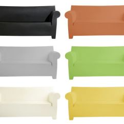 Bubble Club Chair Replica Caster Replacements 2 Seater Sofa By Kartell Clear Grey Made In Design Uk Outdoor Sofas Polypropylene