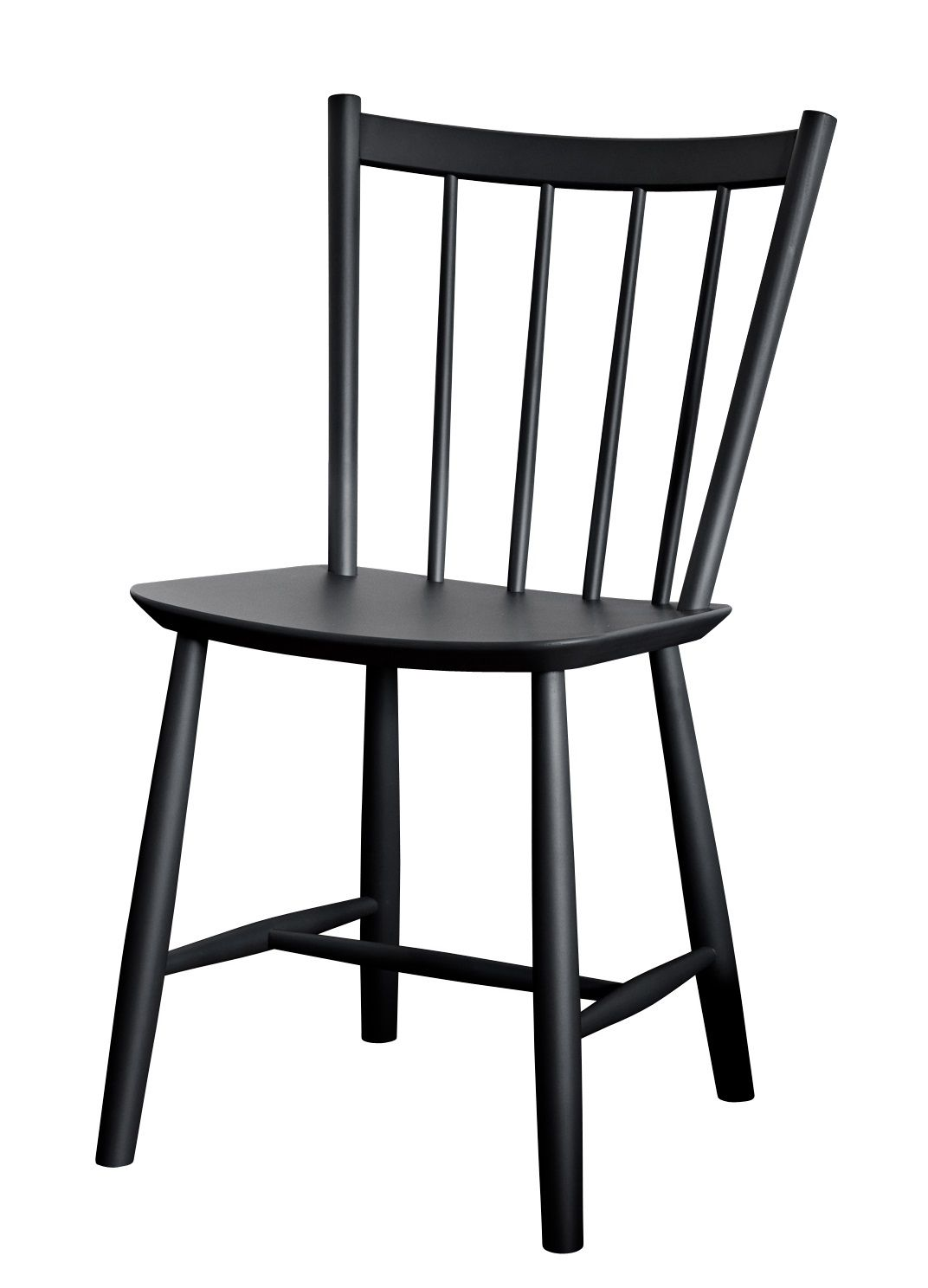 Windsor Chairs Black J41 Chair Wood By Hay