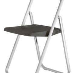 Folding Chair Uk Bedroom For Clothes Honeycomb By Kartell Smoke L 44 X H 81 Made In Polycarbonate Metal Structure