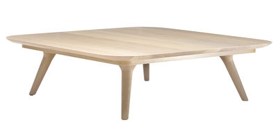 table basse zio 110 x 110 cm chene