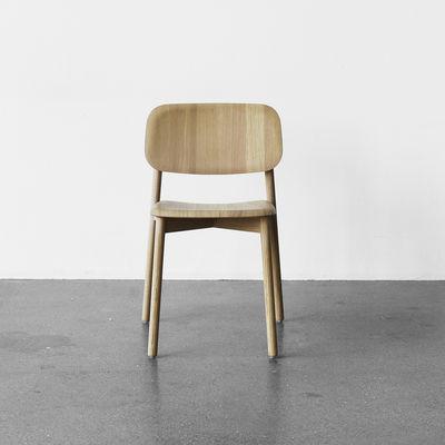chaise soft edge 12 bois hay