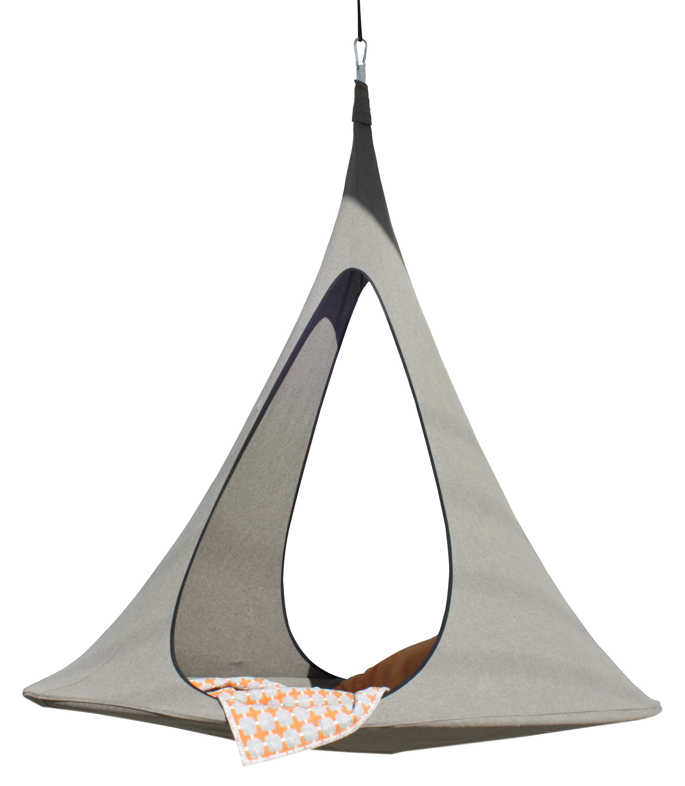 Cacoon Hanging Chair Songo Hanging Armchair Double Hanging Chair Ø Max 194 Cm By Cacoon