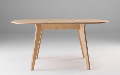 table a rallonge mikado l 120 a 160 cm ondarreta