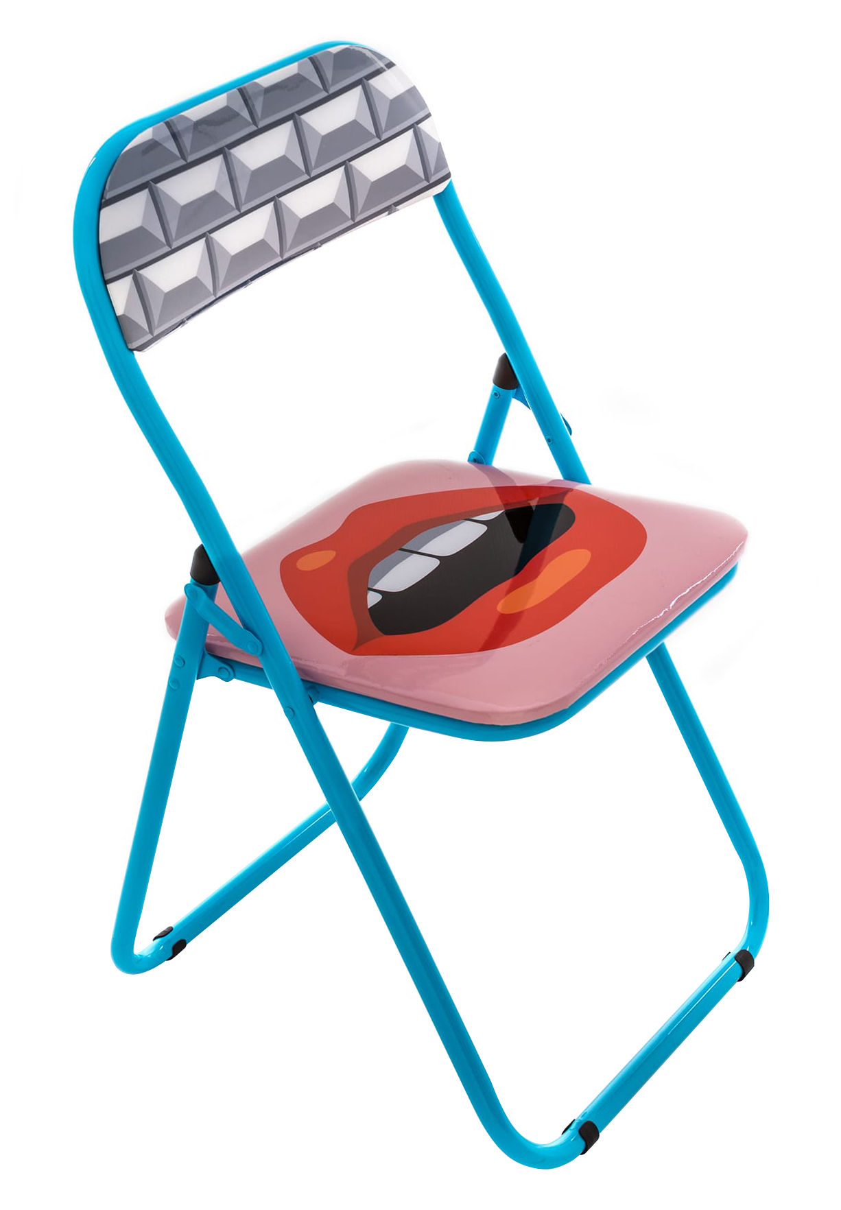 folding chair uk camping chairs walmart bouche padded mouth by seletti made in design