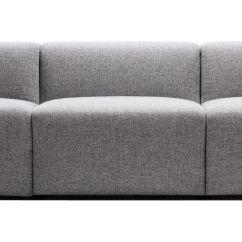 Hay Sofa Kvadrat L Shaped Recliner Mags Straight 3 Seats 266 Cm Steelcut Trio Fabric Light Furniture Sofas