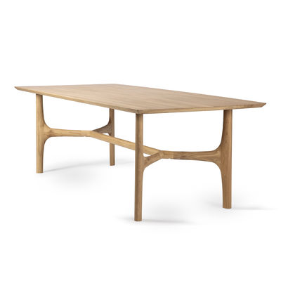 table rectangulaire nexus chene massif 230 x 105 cm 8 personnes ethnicraft