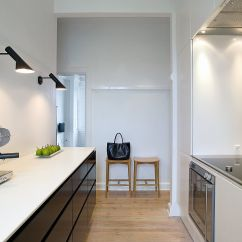 Kitchen Wall Lights Paint Or Stain Cabinets Aj Light Black By Louis Poulsen Made In Design Uk Lighting Steel