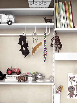 crochet pour etageres en metal perfore set de 5 string furniture
