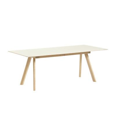 table extensible cph 30 l 200 a 400 x larg 90 cm linoleum hay