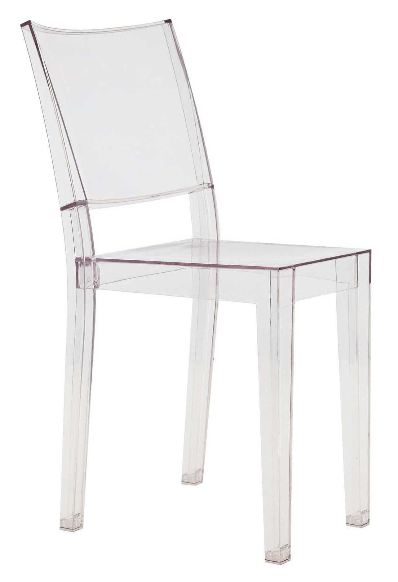 Plastic Clear Chair La Marie Stacking Chair Transparent Polycarbonate By Kartell