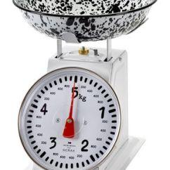 Kitchen Scales Wall Tiles Design Pasta Mechanical 5 Kg Black White By Kitchenware Equipment Serax