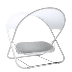 White Swing Chair Uk Four Dining Set Seat Cool La By Emu L 221 X H 212 Made In Design 2 Seats Variation