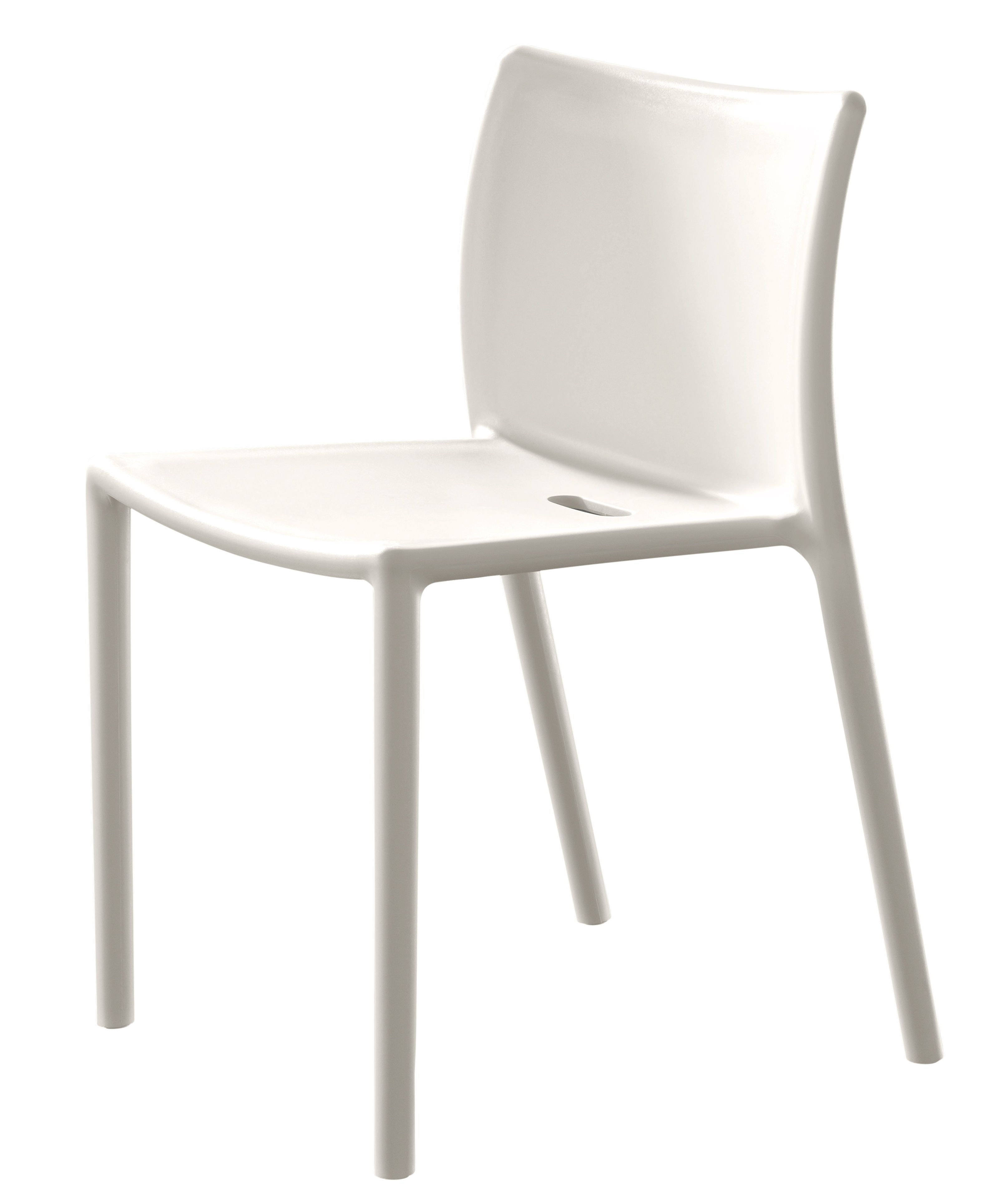 White Stackable Chairs Air Chair Stacking Chair Polypropylene By Magis