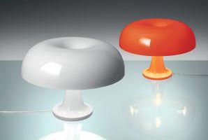 Lampe Nessino Artemide   Orange   Made In Design