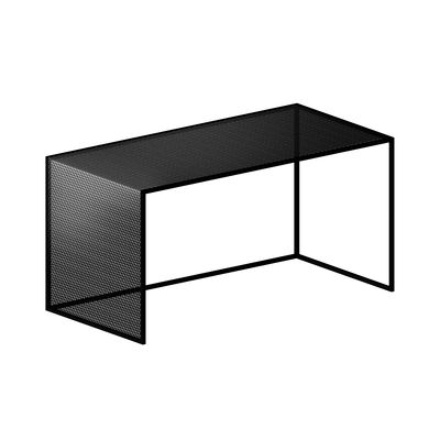 tristano coffee table 80 x 40 cm x h 40 cm steel mesh by zeus