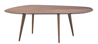 tweed oval table 213 x 102 cm by zanotta