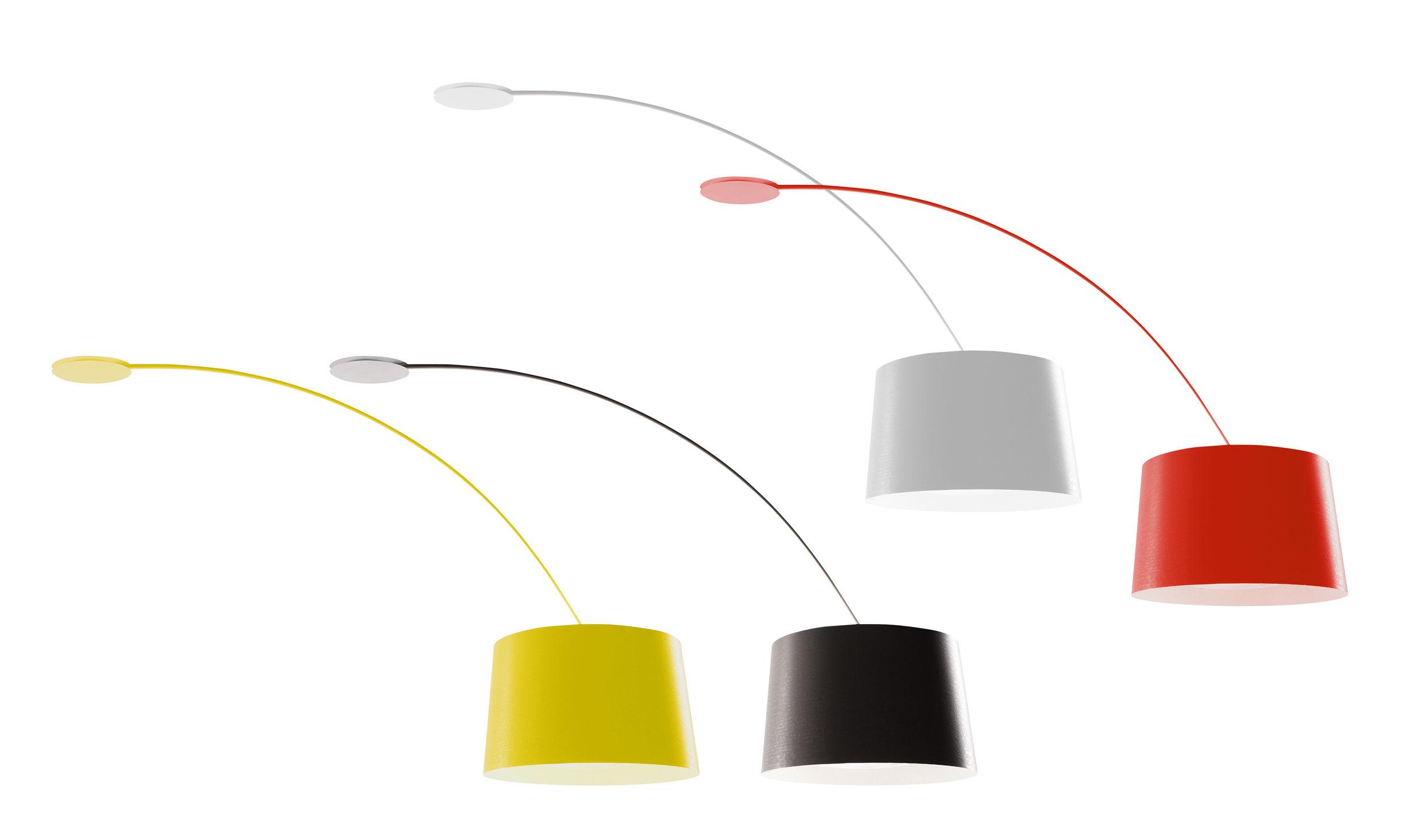 Deckenleuchte Twiggy von Foscarini  Schwarz  Made In Design
