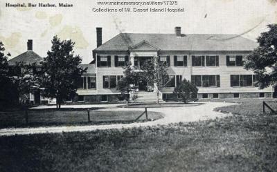 Mt. Desert Island Hospital - Maine Memory Network