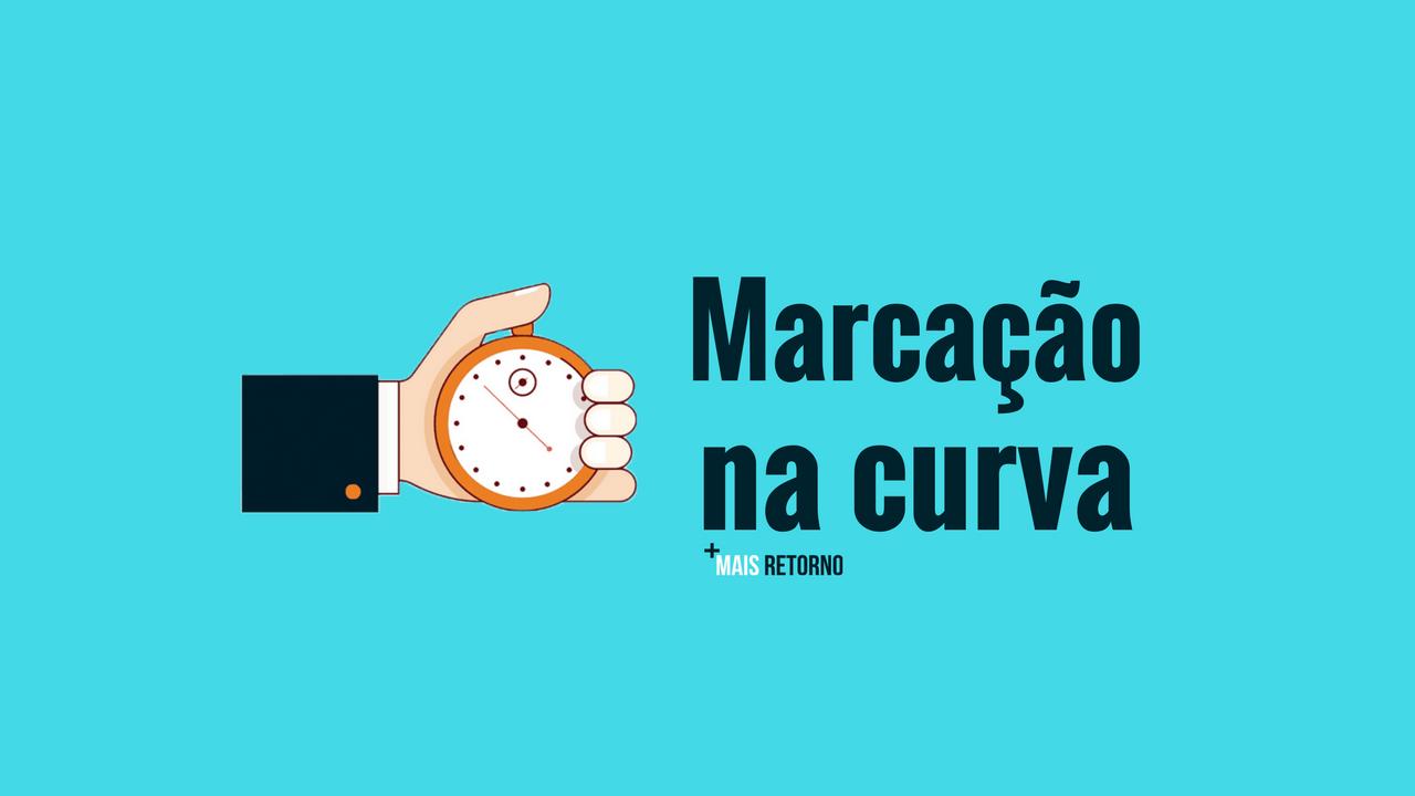 Marcação na curva