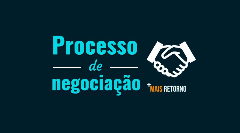 Processo de negociação de ações