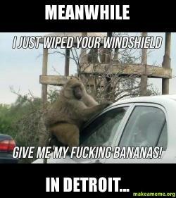 Meanwhile In Detroit  Make a Meme