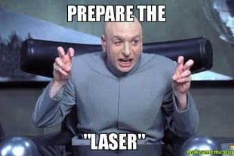 Image result for austin powers laser